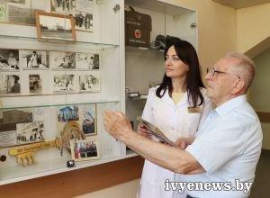 Каждому предмету медицины -  красоты и вечности! В Ивьевской ЦРБ открылась первая выставка будущего музея истории медицины